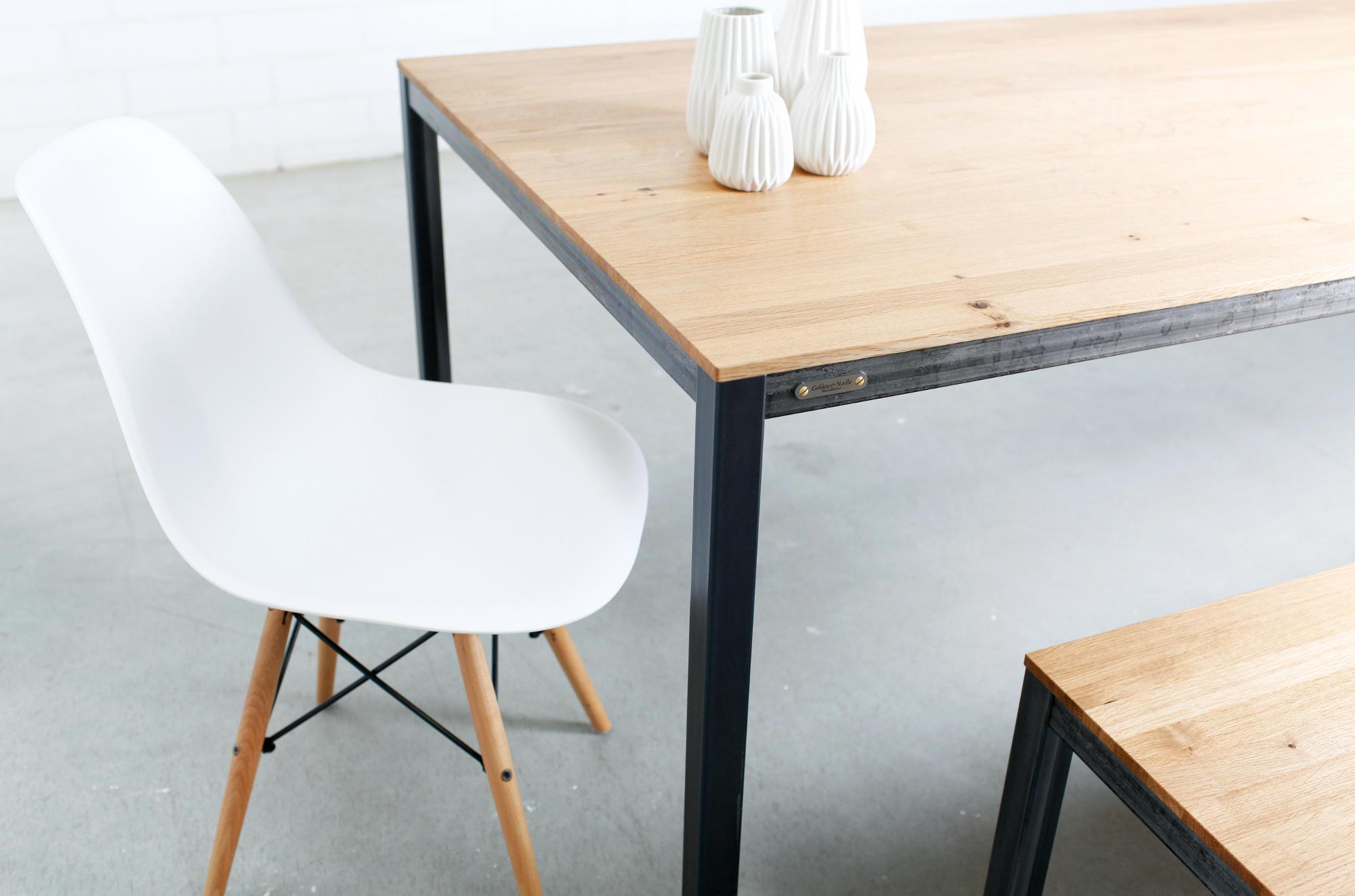 esstisch industrial goldau noelle manufaktur. Black Bedroom Furniture Sets. Home Design Ideas