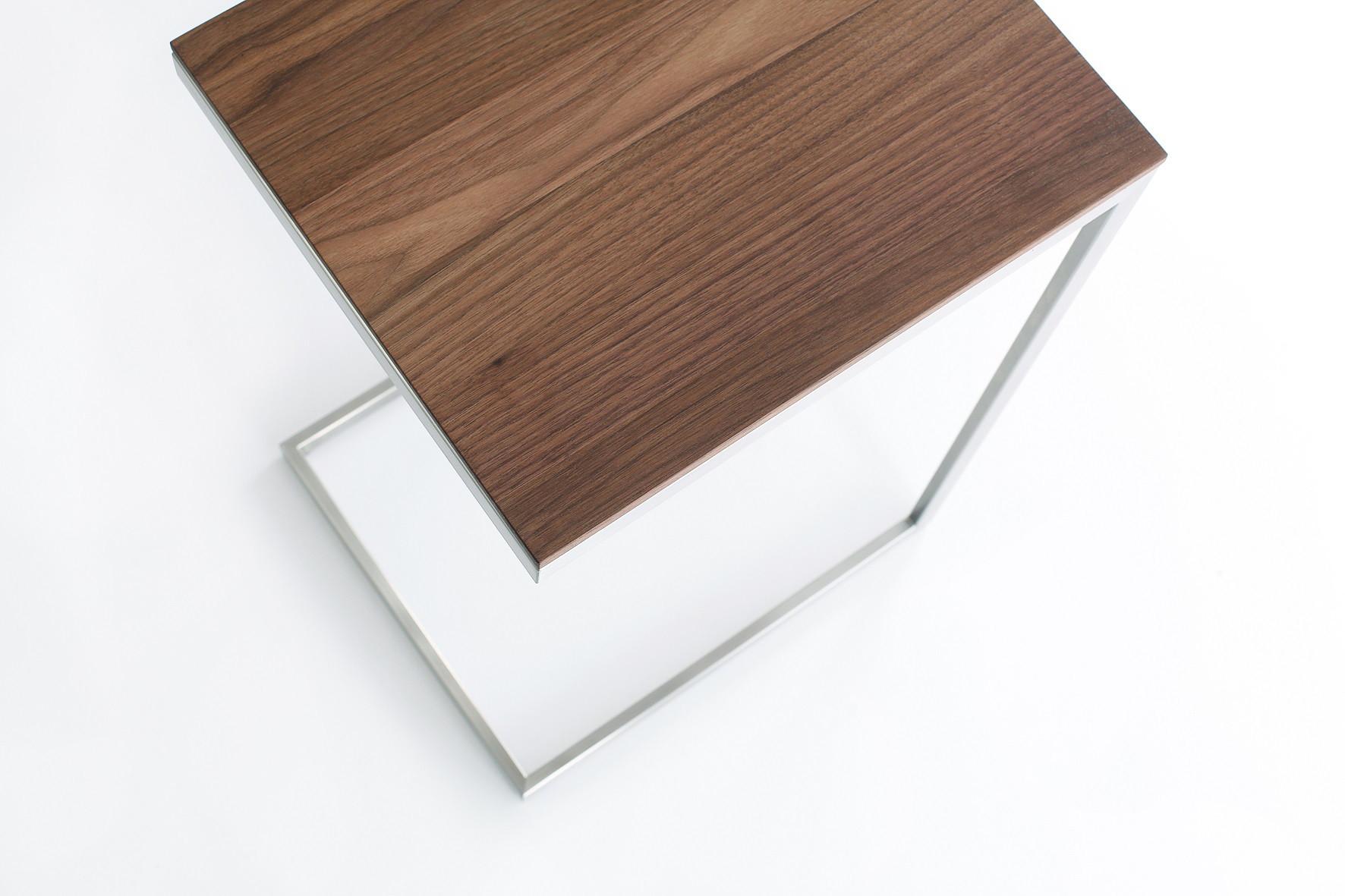 Beistelltisch Jano Aus Holz Und Metall Goldau Noelle Manufaktur